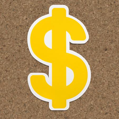 Dollar sign $ icon