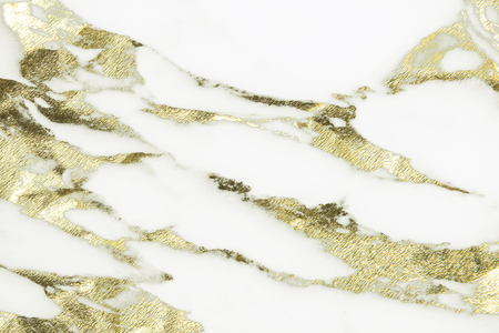 Close up of white marble texture background Banco de Imagens - 110602891