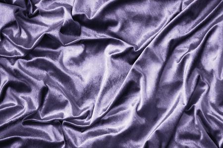 Purple shiny silk fabric texture Stock fotó