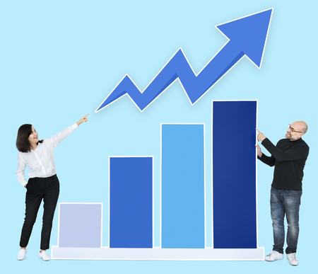 Business partners with a growing graph