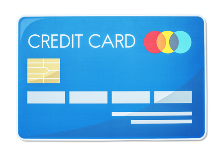 Credit card vector illustration icon Reklamní fotografie