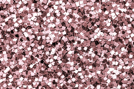 Close up of pink sequin background