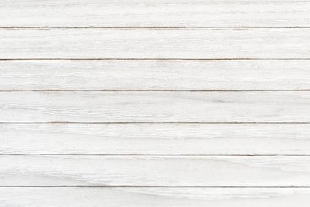 White wooden texture flooring background