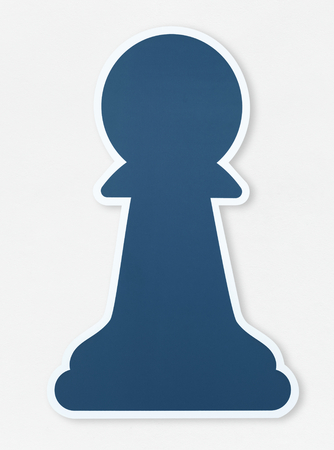 Chess Icon parts vector illustration Stock Photo