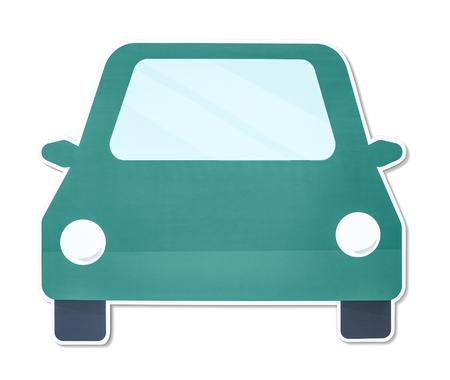 Simple car vector illustration icon