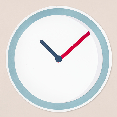 Time concept icon isolated