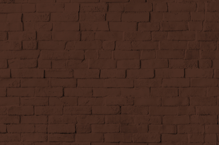 Brown brick wall textured background Stock Photo