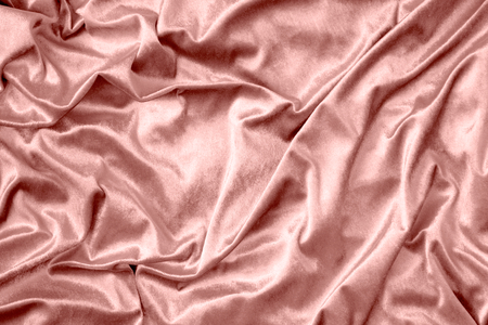 Pink shiny silk fabric texture Stock Photo
