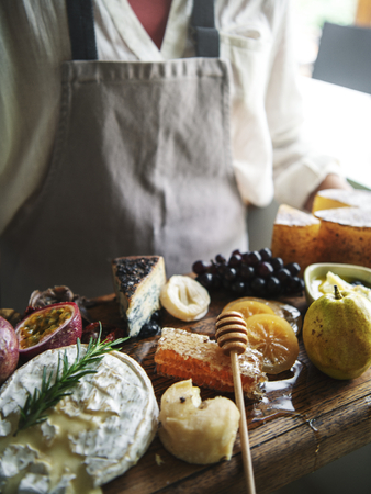 Cheese board food photography recipe idea