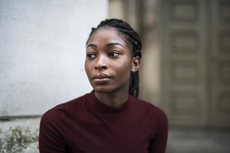 Portrait of a beautiful woman Imagens