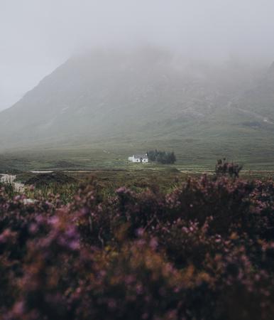 View of Glen Etive, Scotland
