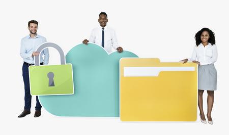 Internet security and protection concept shoot Foto de archivo - 112593614