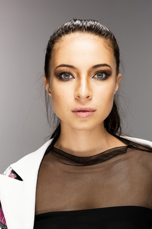 Young model in a fashion shoot Фото со стока