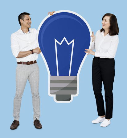 Creative partners with bright ideas