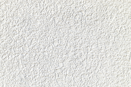 Rough white cement plastered wall texture 写真素材
