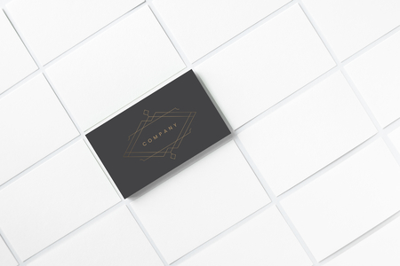 Business card and name card mockup Stok Fotoğraf
