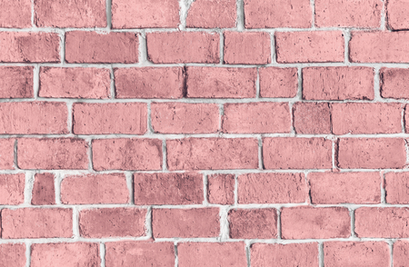 Pink textured brick wall background Reklamní fotografie - 112595482