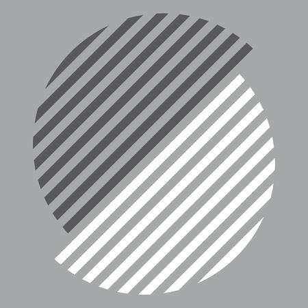 Black and white Swiss graphic design pattern