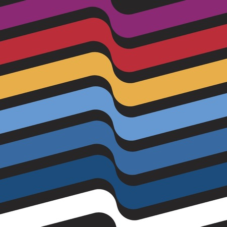 Colorful Swiss graphic design background