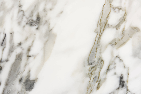 Close up of a white marble textured wall Standard-Bild - 126453037