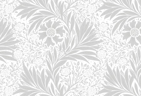 Marigold by William Morris (1834-1896). Original from The MET Museum. Digitally enhanced by rawpixel. Stock Vector - 126453099