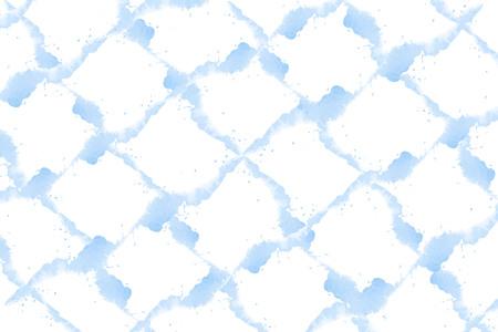 Pastel blue watercolor background vector Çizim