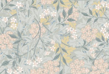 Jasmin par William Morris (1834-1896). Original du musée MET. Amélioré numériquement par rawpixel.