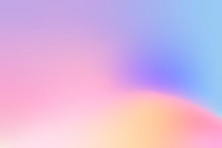 Diseño de fondo degradado holográfico colorido Ilustración de vector