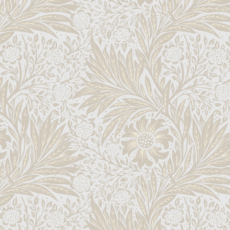 Marigold by William Morris (1834-1896). Original from The MET Museum. Digitally enhanced by rawpixel. Vettoriali