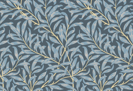 Willow Bough by William Morris (1834-1896). Original from the MET Museum. Digitally enhanced by rawpixel. 写真素材 - 115231301