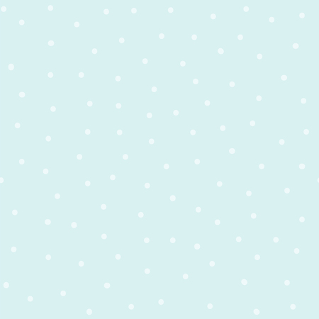 Seamless blue polka dot pattern vector