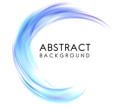 Abstract background design in blue Vectores