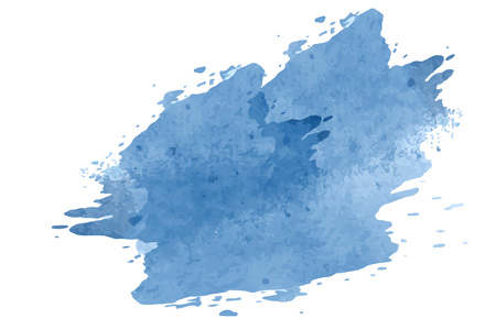 Pastel blue watercolor background vector Иллюстрация