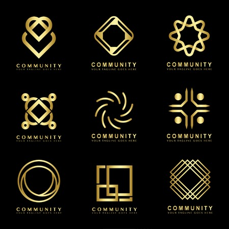 Collection of community icons