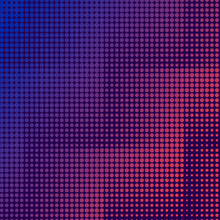 Purple and pink halftone background vector  イラスト・ベクター素材