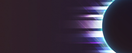 Gradient neon light background vector