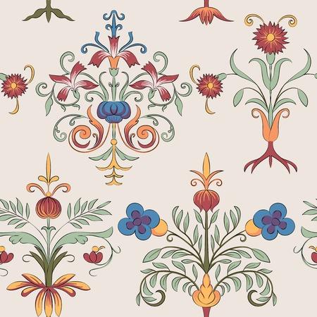 Vintage flourish pattern Banque d'images - 126250854