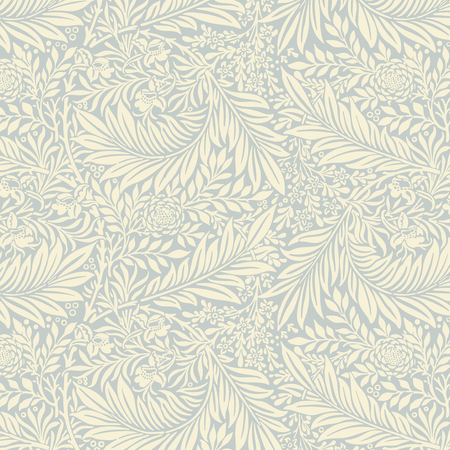 Larkspur by William Morris (1834-1896). Original from The MET Museum. Digitally enhanced by rawpixel. Illustration