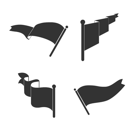Set of black flag vectors