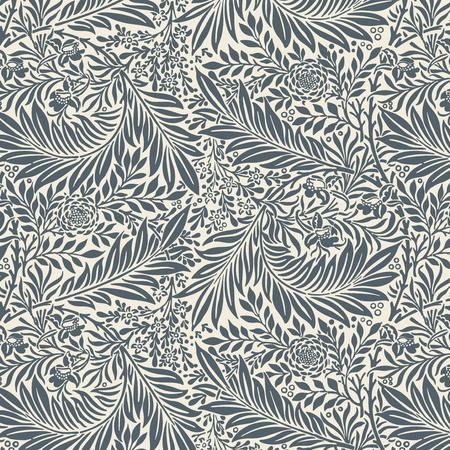 Rittersporn von William Morris (1834-1896). Original aus dem MET-Museum. Digital verbessert durch rawpixel.