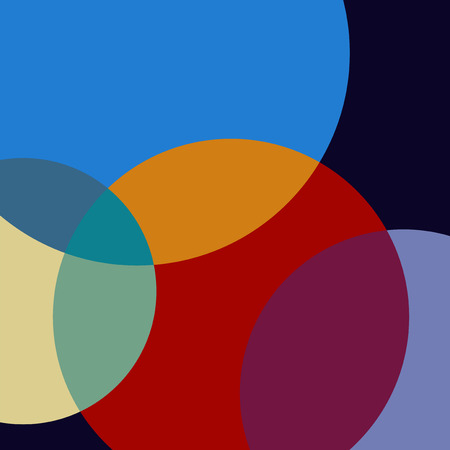 Colorful Swiss graphic design background Vector Illustration