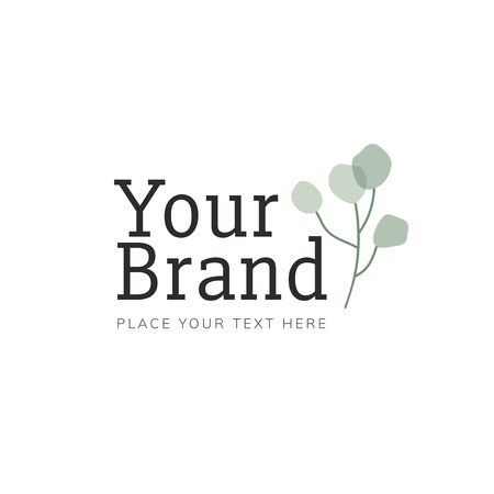 Foliage your brand logo vector