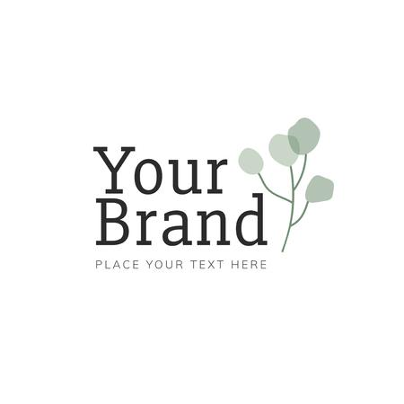 Foliage your brand logo vector
