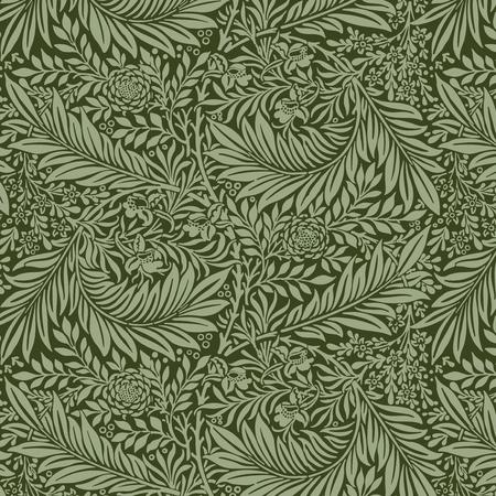 Larkspur par William Morris (1834-1896). Original du musée MET. Amélioré numériquement par rawpixel.