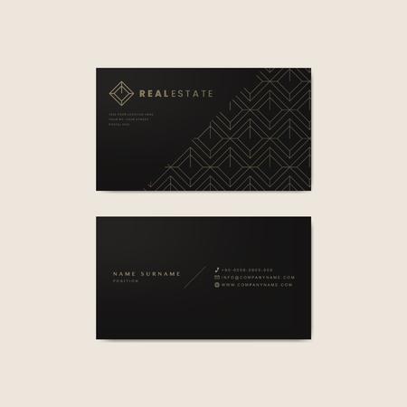 Layout for printed materials mockup vector Illustration