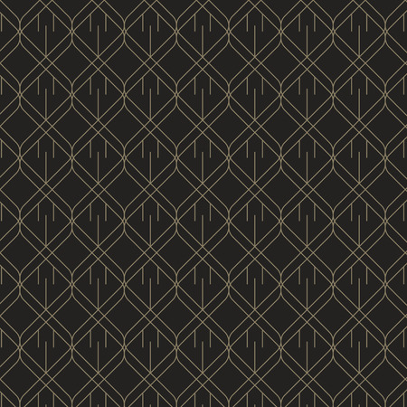 Black and bronze geometric patterned background vector Çizim
