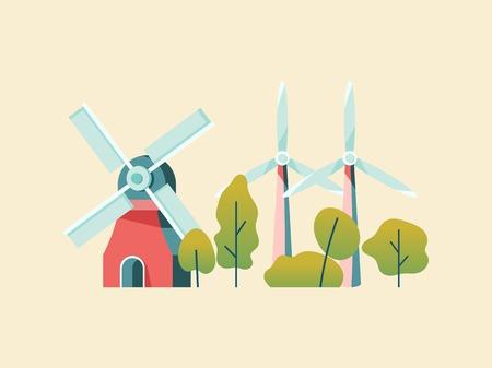 Saving energy with wind power