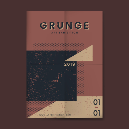 Grunge merlot red distressed textured poster 版權商用圖片 - 125970975