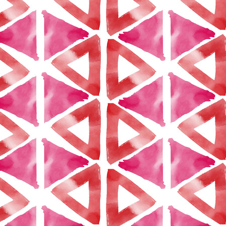 Pastel pattern watercolor background vector