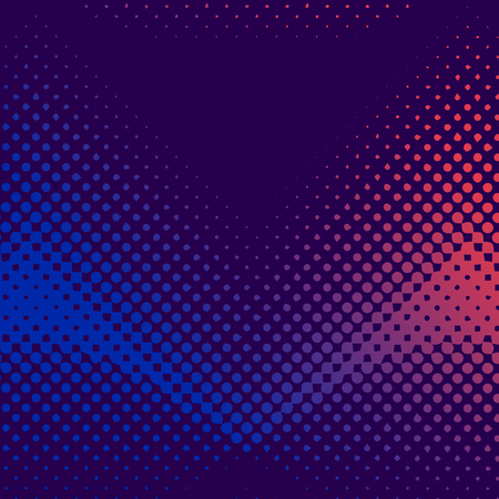 Purple and pink halftone background vector Banco de Imagens - 125971114